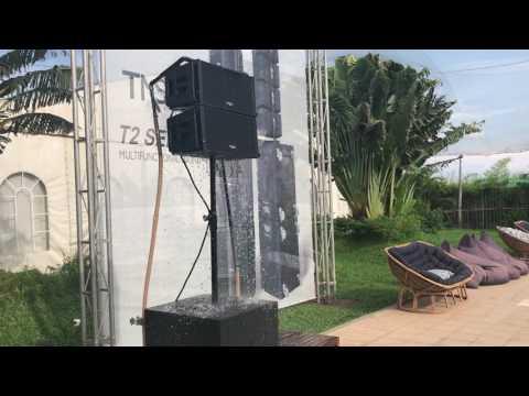 Tasso Audio Waterproof K-ONE active speaker system.