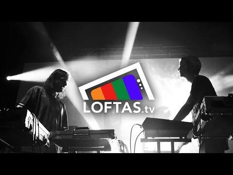 Kiasmos - Drawn (LOFTAS TV Live)