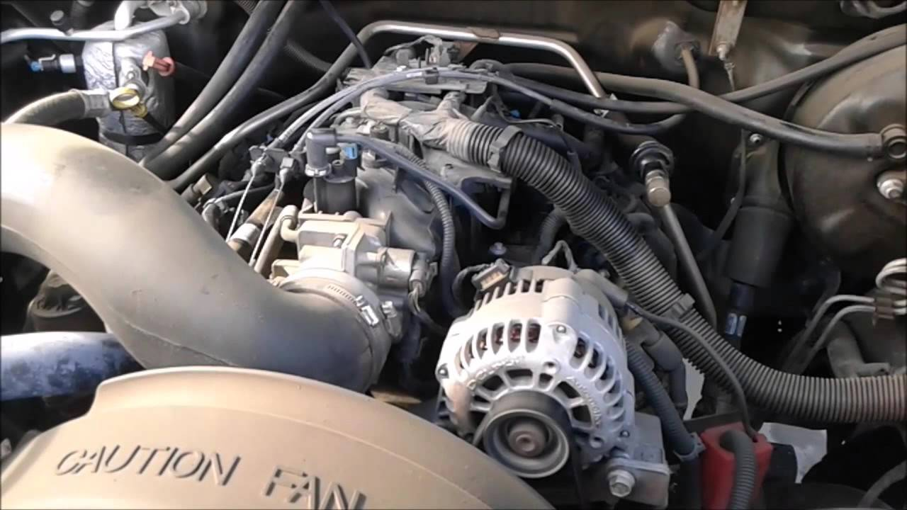 2000 GMC SIERRA - P0410 - P0171 - LEAN SYSTEM - YouTube