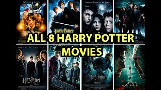 All 8 Harry Potter Movies Playing All at Once - mikeNgary