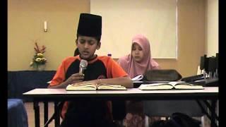 Tahsinul Quran (Omarul Farook di bawah bimbingan Puan Hajjah Faridah Haji Mat Saman)