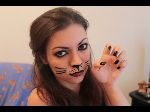 Make Up Tutorial Carnevale Cat Look Youtube