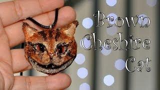 Modelinowy Kot z Cheshire / Polymer clay Cheshire Cat [TUTORIAL]