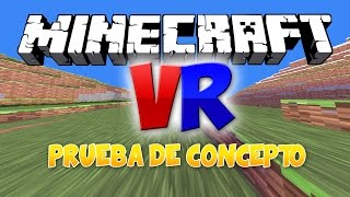MINECRAFT VR   VÍDEOS EN 360º   Experimento de realidad virtual   MANUCRAFT