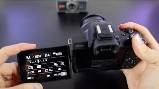 Canon ЕОС М50 самовчитель - інструкція для початківців до кнопок і меню