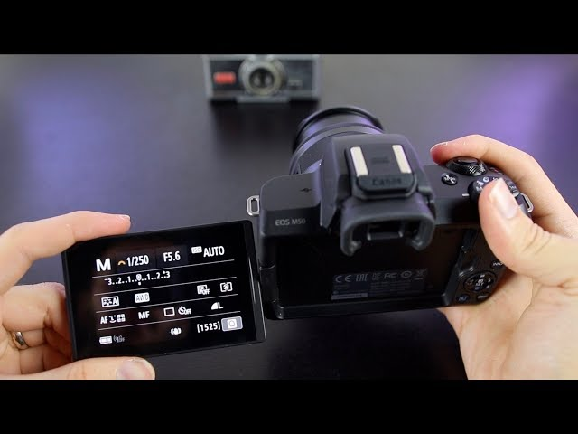 canon eos m50 best video settings