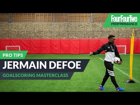 Jermain Defoe | How to score more goals | Pro tips