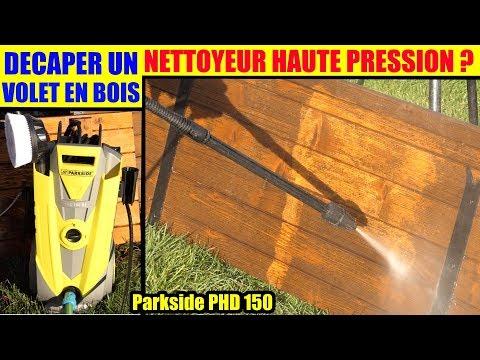 Decaper Un Volet En Bois Avec Un Nettoyeur Haute Pression
