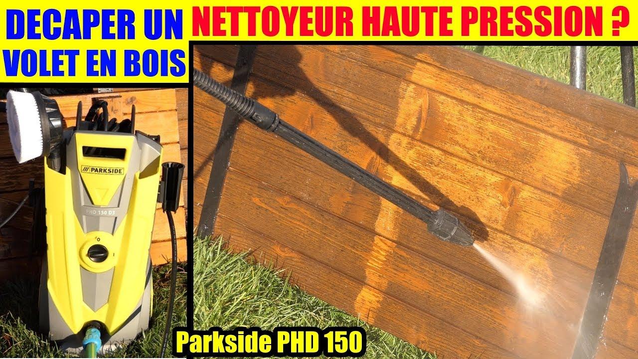 Decaper Volet Bois Lasure : decaper un volet en bois avec un nettoyeur haute pression lidl parkside phd 150 lasure ~ Nature-et-papiers.com Idées de Décoration
