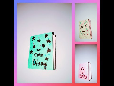 DIY easy small diary with one paper|| For kids....