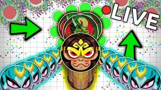 the official agar io live stream with rayday and m4j