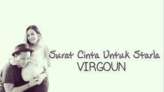 SURAT CINTA UNTUK STARLA - VIRGOUN karaoke tanpa vokal ( instrumental ) cover