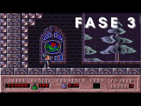 Game clássico Hocus Pocus - Fase 3  