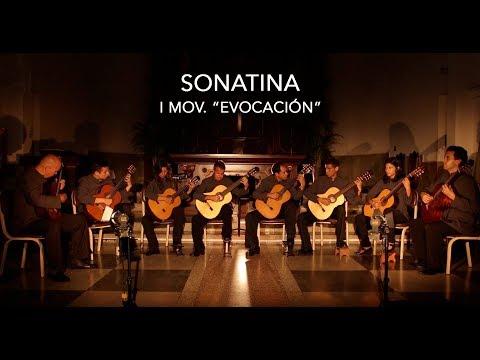 """SONATINA, ENSAMBLE DE GUITARRAS  """"ARMANDO REVERÓN"""""""