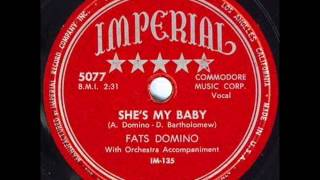 FATS DOMINO  She