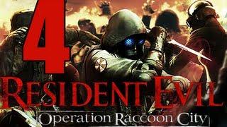 Resident Evil Operacion Racoon City en Español | Parte 4