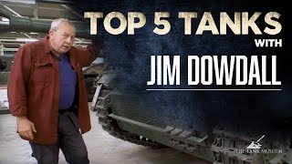 Top Five Tanks - Stuntman Jim Dowdall | The Tank Museum