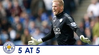 5 AT 5 | Five of the best Kasper Schmeichel saves of 2015/2016