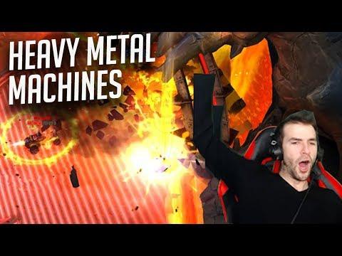 Mon 1er But sur Heavy Metal Machines!