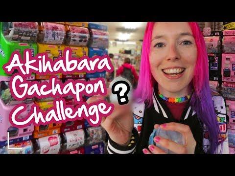 Akihabara Gachapon Challenge!