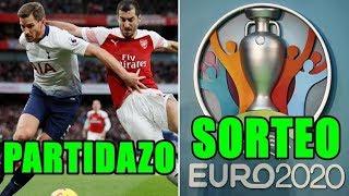RESUMEN jornada en EUROPA y SORTEO clasificación EURO 2020...Mucho fútbol amigos (2/12/18)