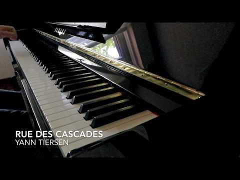 Rue des Cascades - Piano only (sheet music)