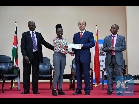 Chinese ambassador scholarships help Kenyan students pursue academic dreams