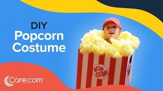 How to Make a Popcorn Box Costume - Easy DIY Halloween   Care.com