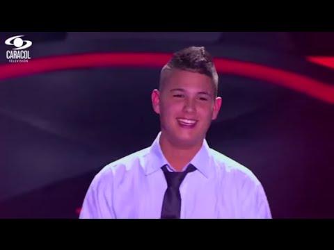 Juan David cantó 'La curiosidad' de J. Londoño y Palacios - LVK Colombia- Audiciones a ciegas - T1