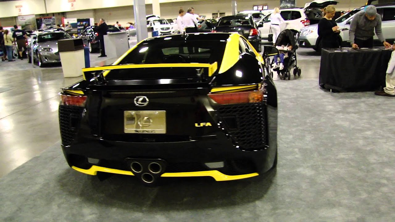 Lexus LFA JM Custom Creations Car - YouTube