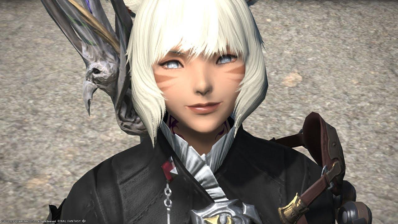 Final Fantasy XIV Stormblood Cirina is so cute - YouTube