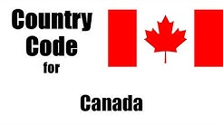 Canada Dialing Code - Canadian Country Code - Telephone Area Codes in Canada