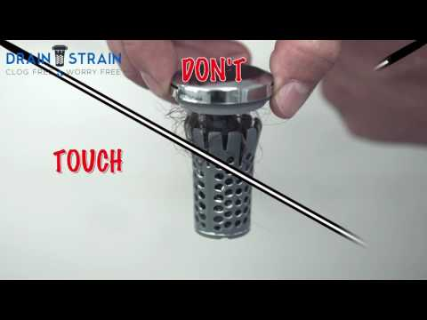 As Seen on Shark Tank - Drain Strain®, No-Clog Drain Stopper