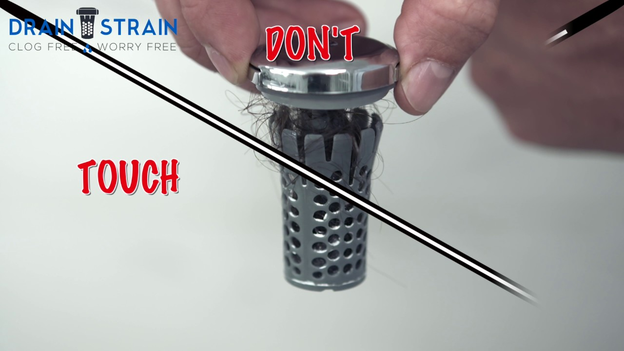 As Seen On Shark Tank Drain Strain 174 No Clog Drain
