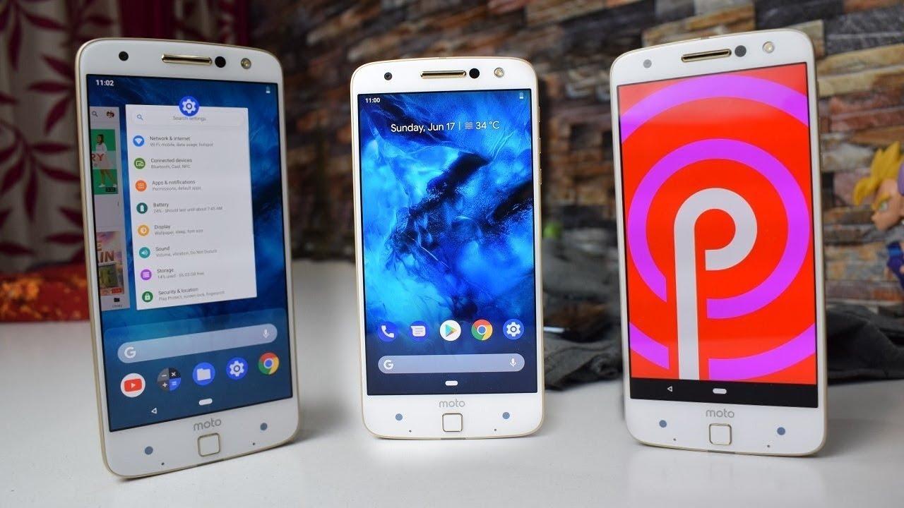 Motorola Moto Z Android 9 0 Pie Full Review!!!