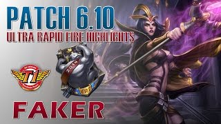 SKT T1 Faker - Ultra Rapid Fire Leblanc - KR LOL Diamond 1 75LP Highlights