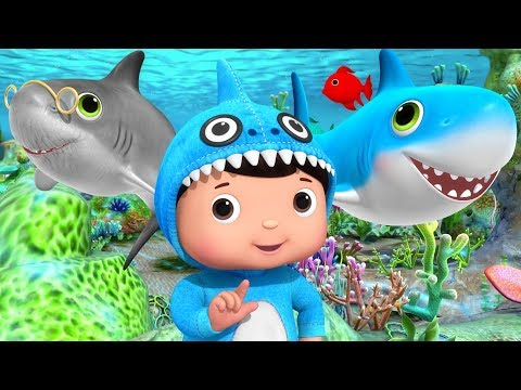 Baby Shark Dance | +More Nursery Rhymes & Kids Songs | Littl