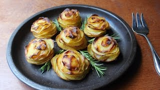 Potato Roses - How to Make Rose-Shaped Potato Gratins