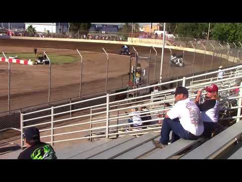 CA Speedweek, Delta Speedway - Micro 600R Hot Laps (Carson Borden) - June 27, 2018