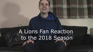 A Lions Fan Reaction to the 2018-2019 NFL Season