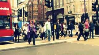 Walking in the Oxford street, London