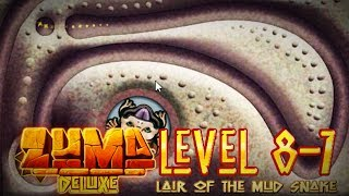 Zuma Deluxe (PC) - Popo Poyolli - Level 8-7 - Lair of the Mud Snake Gameplay