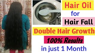 100% Results    #Best Hair Oil for #Hairfall and #HairGrowth    Lifestyle of Indian Mom