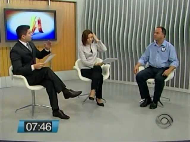 Kennedy Nunes - Entrevista Jornal do Almoço RBS - 17/09/2012