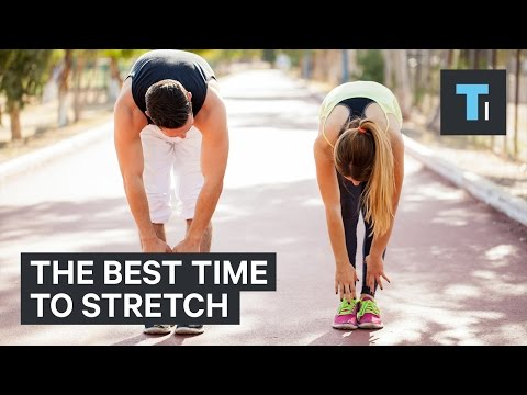 A physical therapist explains the best time to stretch