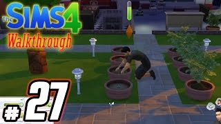 The Sims 4 Playthrough: Part 27 - We Build Our First Garden! - (PC / Gameplay / Walkthrough)