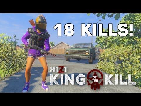 » 18 KILLS RUNDE! « - Revolver Ocelot in H1Z1 KOTK
