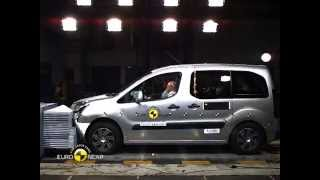 Euro NCAP Crash Test of Citroën Berlingo 2014