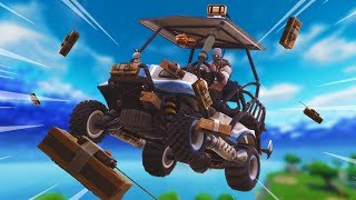 INSANE C4 GOLF CART GLITCH! – Fortnite Battle Royale