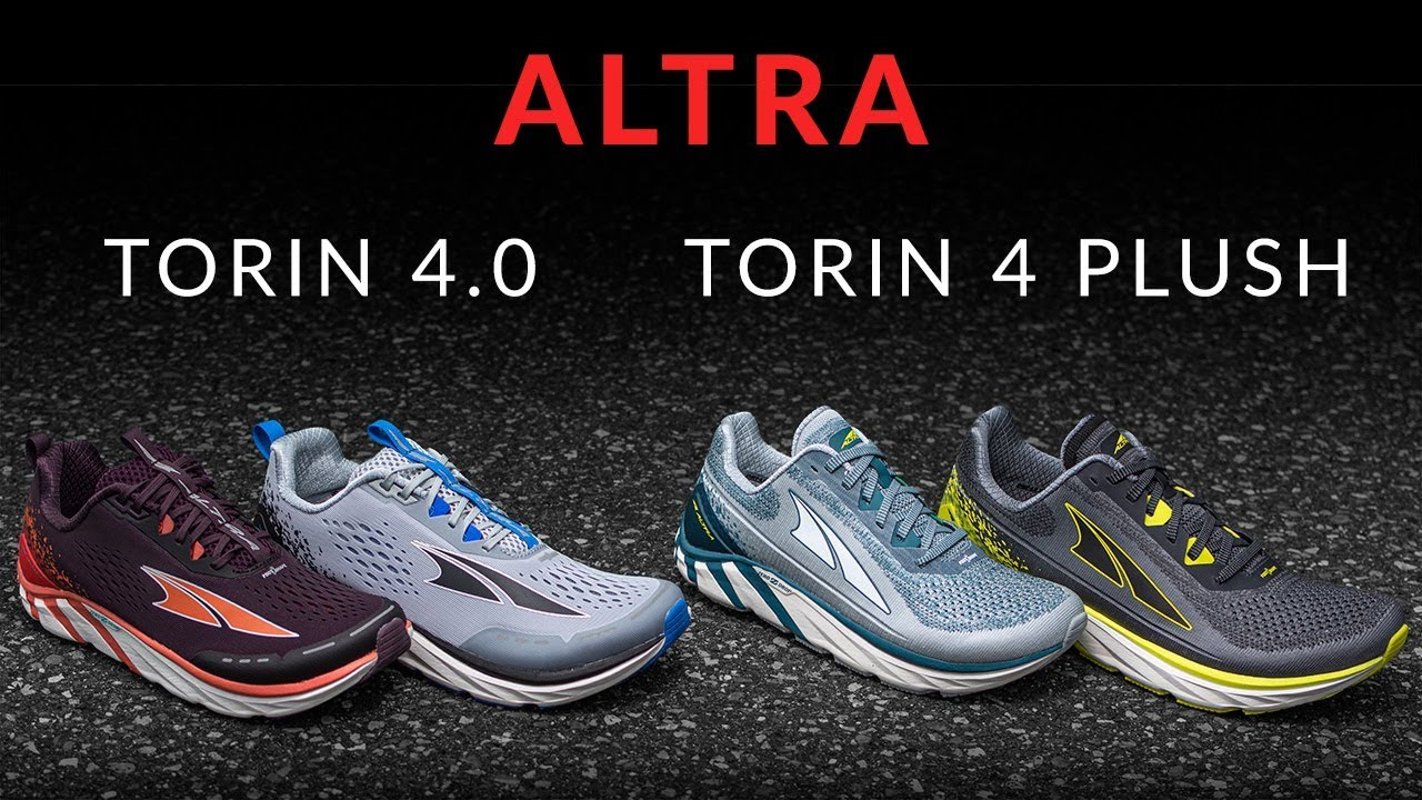 Altra Torin 4.0 vs. Torin 4 Plush